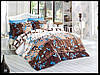 Комплект постельного белья First Choice бамбук Argos mavi евро (kod 3198)