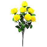 Букет пионовидная роза-розетка,  68см (10 шт. в уп), фото 5