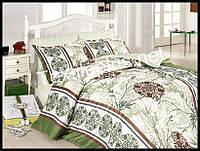 Комплект постельного белья First Choice бамбук Luna yasil евро (kod 3200)