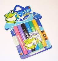 Витражные краски Domi Frog Pasco 6 цветов