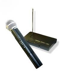 Ручной беспроводной радиомикрофон микрофон Shure SH-200 с базой