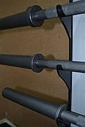 Гриф l-2.2м вес 17.5кг нагрузка до 150 кг d-для блинов 50мм для штанги прямой, фото 2