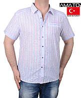 Рубашка-тенниска с коротким рукавом.