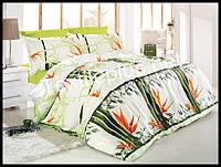 Комплект постельного белья First Choice бамбук Sena yesil евро (kod 3207)