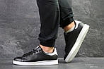 Мужские кроссовки Adidas Stan Smith (черно-белые), фото 6