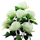 Букет пионовидная роза-розетка,  68см (10 шт. в уп), фото 6
