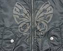 Демисезонная куртка-бомбер 2-сторонняя для девочки черн/роз (Quadrifoglio, Польша), фото 2