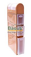 Комод-пенал пластиковый для ванной комнаты 115х46х16,5см (цвет - бежевый) Консенсус