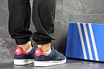 Мужские кроссовки Adidas Stan Smith (сине-белые), фото 3