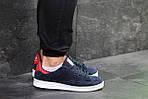 Мужские кроссовки Adidas Stan Smith (сине-белые), фото 4