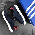 Мужские кроссовки Adidas Stan Smith (сине-белые), фото 5
