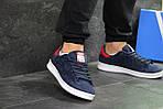 Мужские кроссовки Adidas Stan Smith (сине-белые), фото 6