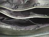 Модная маленькая женская сумка/ Сумка клатч женская через плечо /черная/, фото 6