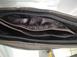 Модная маленькая женская сумка/ Сумка клатч женская через плечо /черная/, фото 7