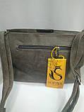 Модная маленькая женская сумка/ Сумка клатч женская через плечо /черная/, фото 2