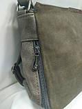 Модная маленькая женская сумка/ Сумка клатч женская через плечо /черная/, фото 3