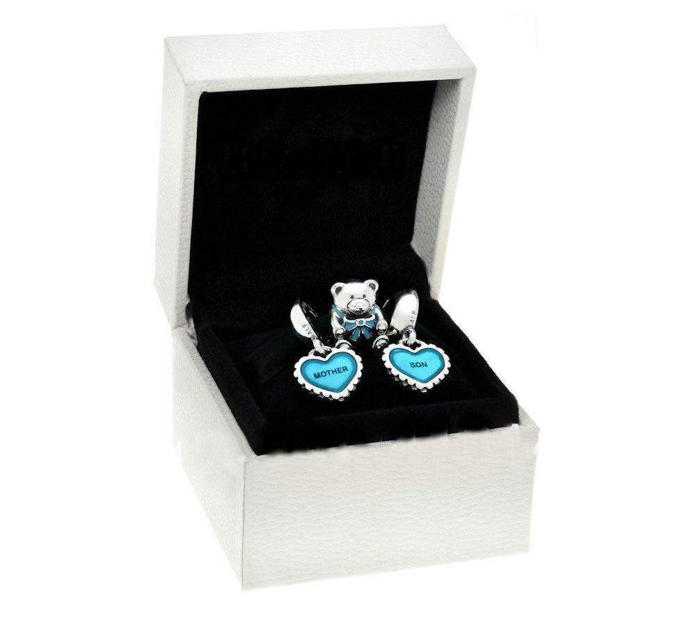 Подарочный набор шармов «Мама и сын» в стиле Pandora