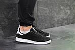 Мужские кроссовки Adidas Stan Smith (черно-белые), фото 2