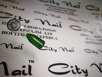 Гель-лак вітражний CityNail 3 зелений