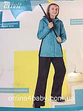 Детский костюм-дождевик Crivit на девочку 4-6 лет, рост 110/116 см