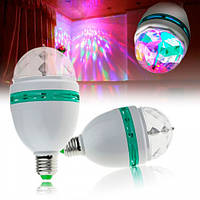 Светомузыка для дома LED Mini Party Light Lamp, диско лампа лед, диско мини пати, лампа с патроном, лампа для вечеринок, дисколампа, светомузыка