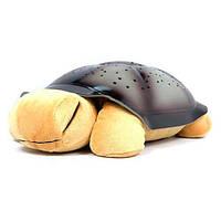 Проектор звездного неба черепашка Nighttime Turtle, ночник, светильник черепаха, черепашка со звуком, игрушка черепаха светильник, ночная черепашка