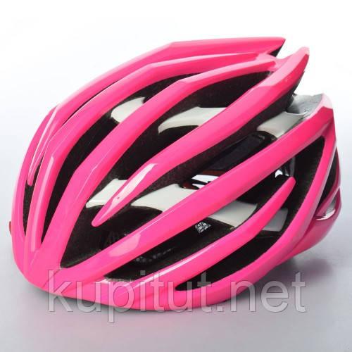 Шлем AS180069-8, взрослый, защитный, универсальный размер, розовый