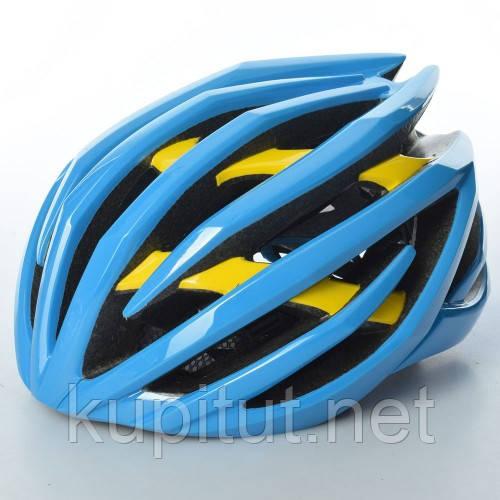 Шлем AS180069-9, взрослый, защитный, универсальный размер, синий