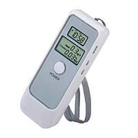 Цифровой алкотестер с LCD часами, алкотестер, алкометр, измеритель алкоголя в крови, содержание алкоголя, уровень алкоголя