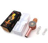 Беспроводной караоке микрофон WS 668, фото 2