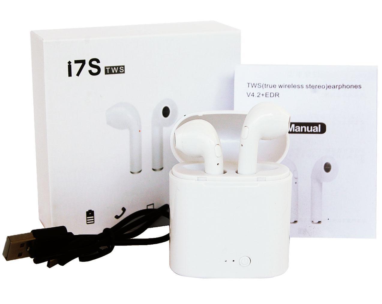 Хіт продажів Бездротові навушники в кейсі HBQ i7s tws