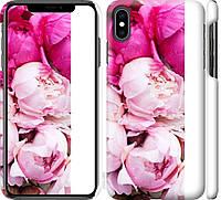 "Чехол на iPhone XS Max Розовые пионы ""2747c-1557-18924"""