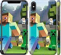 """Чехол на iPhone XS Max Minecraft 4 """"2944c-1557-18924"""""""