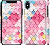 """Чехол на iPhone XS Max Красочная черепица """"3703c-1557-18924"""""""
