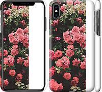"""Чехол на iPhone XS Max Куст с розами """"2729c-1557-18924"""""""
