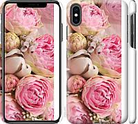 "Чехол на iPhone XS Max Розы v2 ""2320c-1557-18924"""