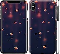"""Чехол на iPhone XS Max Падающие звезды """"3974c-1557-18924"""""""