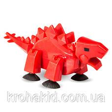 Фигурка Стикбот СТЕГОЗАВР динозавр JM - 13 A Stikbot Dino Stegosaurus, фото 2