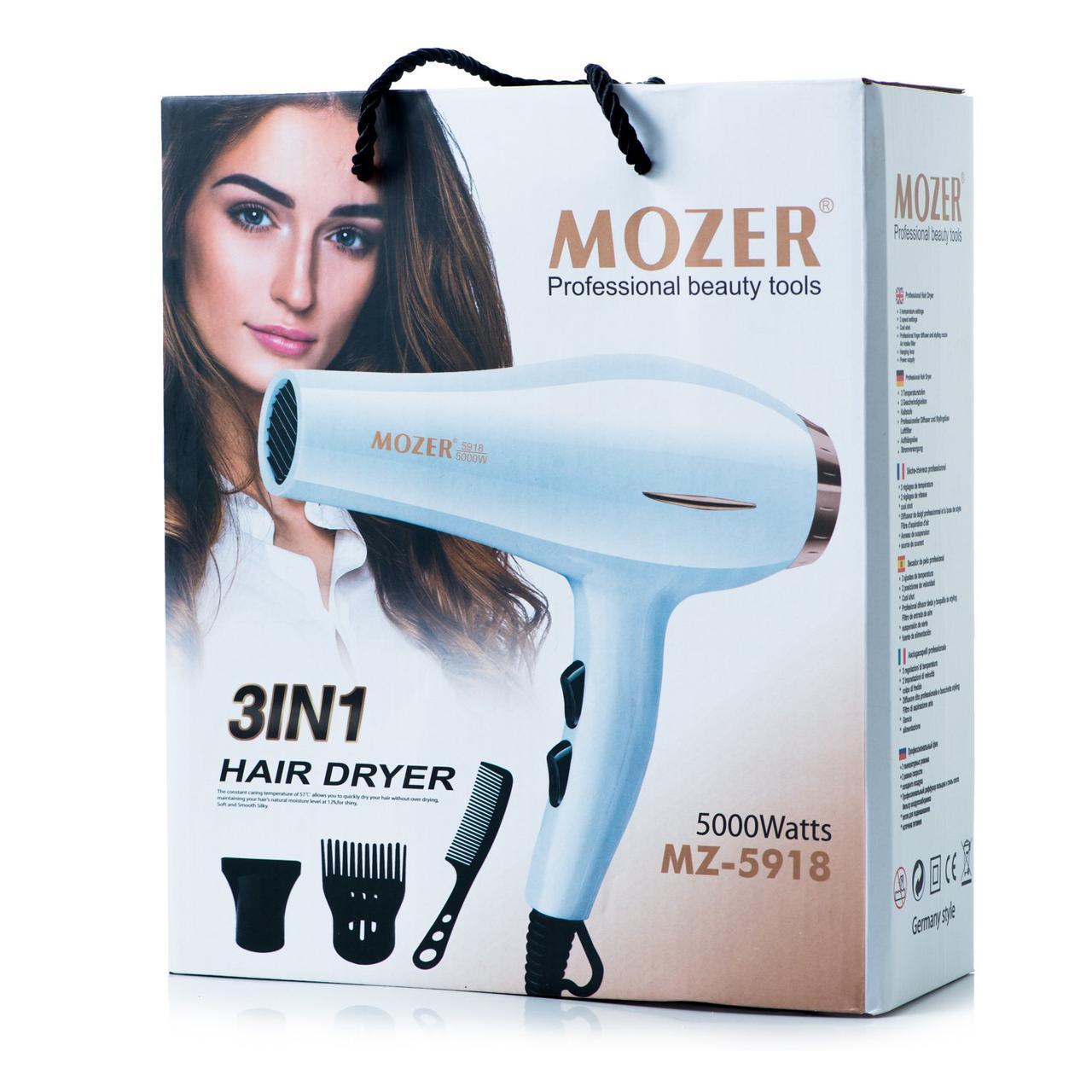 Професійний фен для волосся MOZER MZ-5918