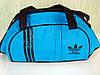 Стильная спортивная сумка ADIDAS LS-530 (сине-черный)