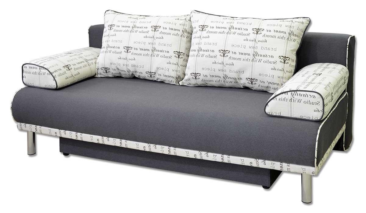 Диван Паоло прямий, модерн, розкладний, подушки. Під замовлення