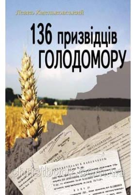 136 призвідців Голодомору
