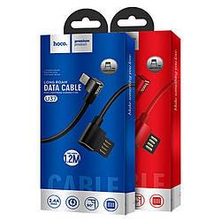 НОСО U37 90 градусов, USB-кабель для iphone зарядное устройство для синхронизации данных и быстрой зарядки