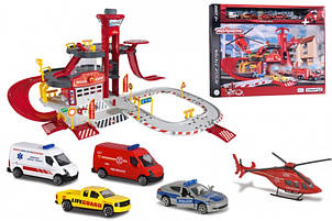 Игровой набор Majorette Спасательная станция с 5 машинками 212050019