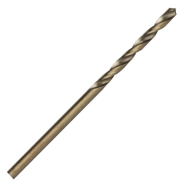 Сверло кобальтовое по металлу 2.5 мм HSS-Co, DIN 338 INTERTOOL SD-5425