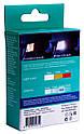 Автолампа диодная Philips Ultinon LED 11498ULWX2, 2 шт, 1156, BA15S, P21W, цвет свечения белый, фото 2