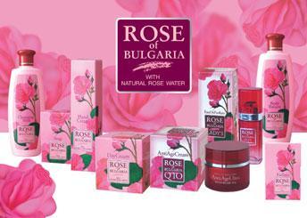 Болгарская косметика с натуральным розовым маслом