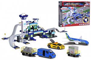 Игровой набор Majorette Креатикс Аэропорт с 5 машинками