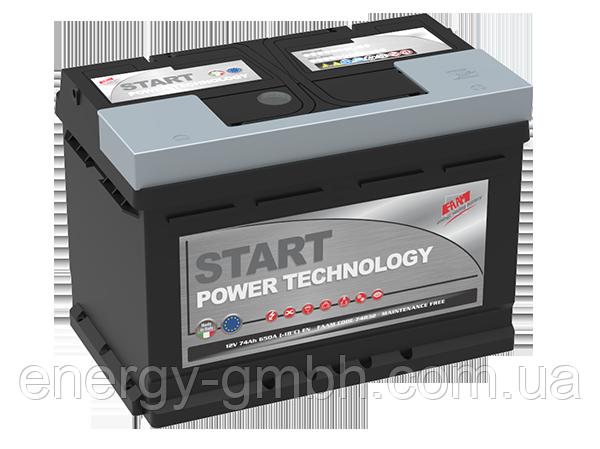 Стартерный аккумулятор FAAM серии Top Power Start 6СТ-52