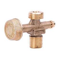 Вентиль для газовых баллонов GS-0005, GS-0008 и горелок INTERTOOL GS-0009